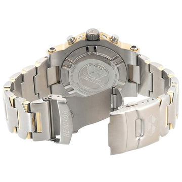 Reactor 75102 Men's Critical Mass DNA Silver Dial Two Tone Bracelet Chronograph Dive Watch