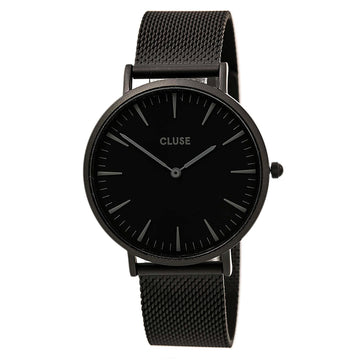 Cluse CL18111 Women's La Boheme Black Steel Bracelet Watch