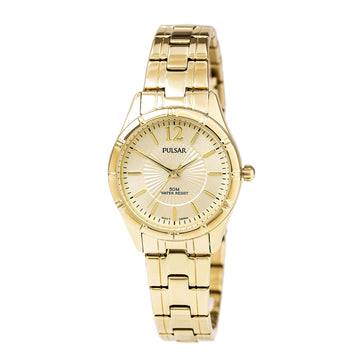 Pulsar PH8258 Women's Easy Style Yellow Gold Steel Bracelet Gold Tone