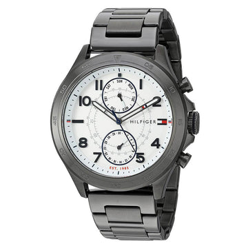 Tommy Hilfiger 1791341 Hudson Men's Gunmetal Bracelet Watch