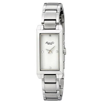 Kenneth Cole KC4823 Women's Classic White Dial Stainless Steel Bracelet Watch