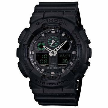 Casio GA100MB-1A Men's G-Shock Quartz Black Resin Watch