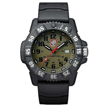 Luminox 3813 Master Carbon Seal 3800 Men's Green Dial Watch