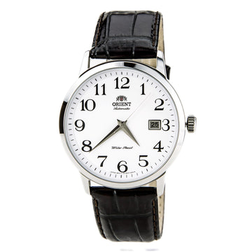 Orient Men's Automatic Watch - Symphony Leather Strap White Dial | ER27008W