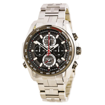 Bulova 98B270 Men's Precisionist Black Dial Stainless Steel Bracelet Chronograph Dive Watch