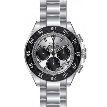Invicta 22392 Men's Speedway Chronograph Silver Dial Stainless Steel Bracelet Watch