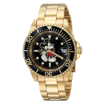 Invicta 25107 Disney Men's Black Dial Automatic Dive Watch