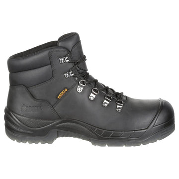 Rocky Men's Work Boot - Worksmart Composite Toe Waterproof Black Wide | RKK0244-W