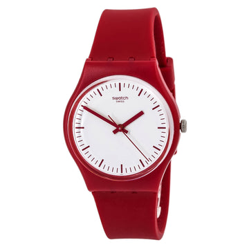 Swatch GR172 Time to Swatch Women's White Dial Swiss Watch