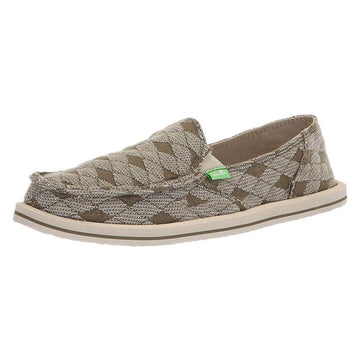 Sanuk Women's Slip-On - Donna Quilt Sidewalk Surfers | 1095180-BOAR