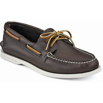 Sperry 0195115 Men's Authentic Original Classic Brown Leather 2-Eye Boat Shoe