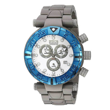 Invicta Men's Chronograph Watch - Subaqua Noma I Reserve White Dial | 23154