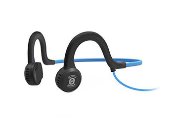AfterShokz AS401OB Sportz Titanium Open Ear Wired Ocean Blue Bone Conduction Headphone
