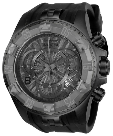 Invicta 24279 Men's Excursion Grey Dial Silicone Strap Chronograph Dive Watch
