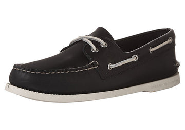 Sperry STS10405 Men's Authentic Original Navy Leather 2-Eye Boat Shoe