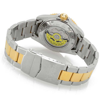Invicta 24786 Men's Snoopy & Woodstock Character Blue Dial Two Tone Bracelet Automatic Dive Watch