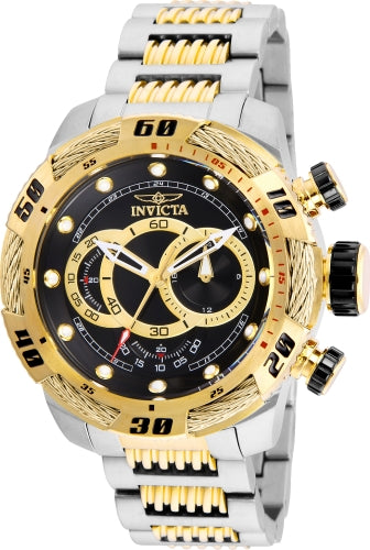 Invicta Men's Chronograph Watch - Speedway Two Tone Stainless Steel | 25481