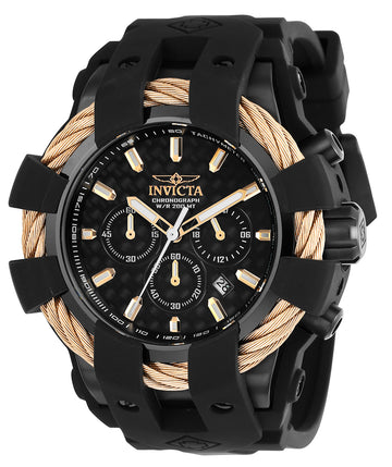 Invicta Men's Chronograph Watch - Bolt Sport Carbon Fiber Dial | 23867