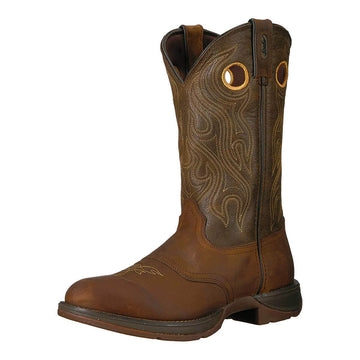 Durango Men's Western Boot - Rebel Sunset Velocity and Trail Brown | DB5468