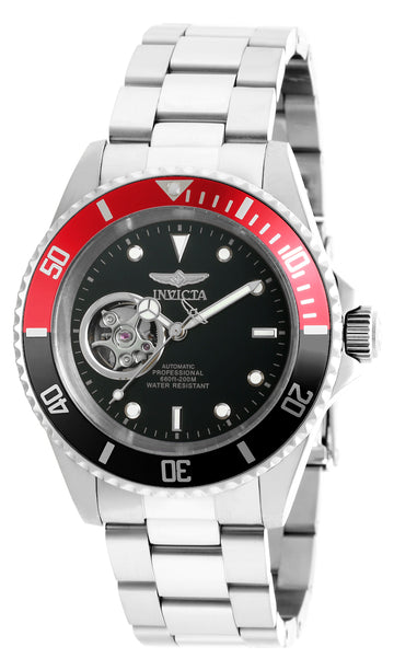 Invicta Men's Automatic Stainless Steel Watch - Pro Diver Black Dial | 20435