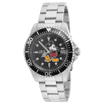 Invicta 24757 Men's Disney Charcoal Dial Automatic Watch