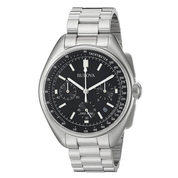 Bulova Men's Chronograph Watch - Lunar Pilot Stainless Steel Bracelet | 96B258