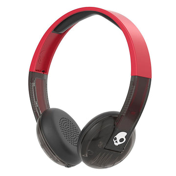 Skullcandy S5URJW-556 Uproar Wireless On-Ear Black & Red Bluetooth Headphone