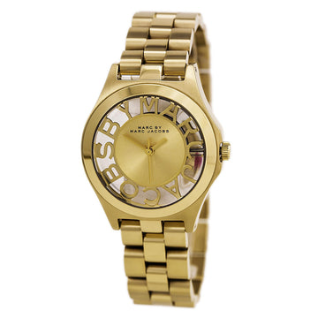 Marc by Marc Jacobs MBM3292 Women's Yellow Steel Bracelet Quartz Trans