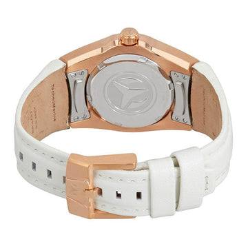 Technomarine Women's Strap Watch - Cruise Select White Leather Silver Dial | TM-115390