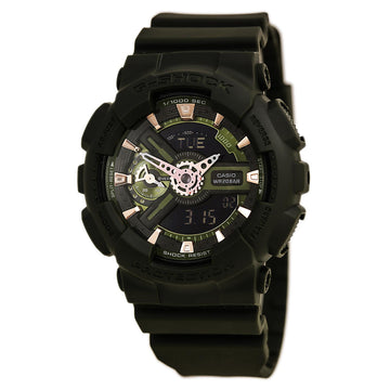 Casio World Time Watch für Herren - G-Shock S Series Tauchgang Ana-Digital Dial | GMAS110CM-3A