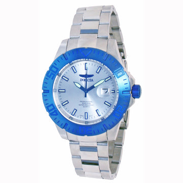 Invicta Men's Pro Diver Stainless Steel Analog Watch - Quartz Silver Dial | 14051