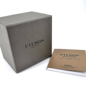 Filson 10000340 Journeyman Men's Smoke Grey Dial Date Watch