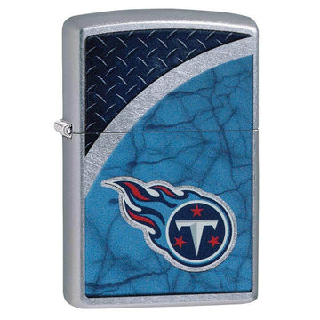 Zippo Windproof Pocket Lighter - NFL Tennessee Titans Street Chrome | 29381