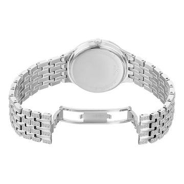 Bulova Women's Bracelet Watch - Crystal MOP Dial Stainless Steel Quartz | 96L242