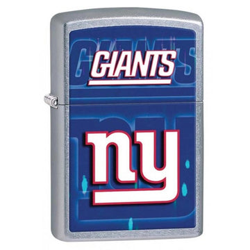 Zippo 28598 NFL New York Giants Street Chrome Windproof Pocket Lighter