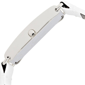 Calvin Klein K0I23101 Women's Citified White Leather Strap Watch