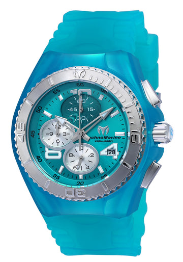 Technomarine Women's Chronograph Watch - Cruise JellyFish Turquoise Dial | TM-115106