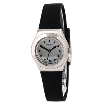 Swatch YSS306 Womens Time to Swatch Silver Dial Quartz Watch