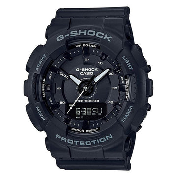 Casio Women's Analog-Digital Watch - G-Shock S-Series Step Tracker | GMAS130-1A