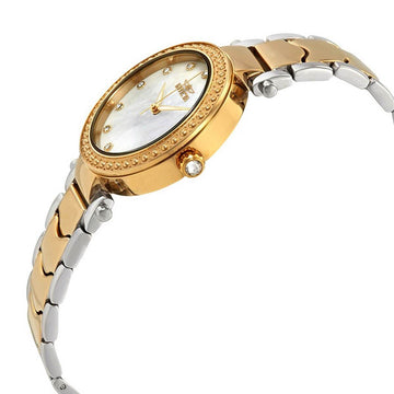 Invicta 23965 Women's Wildflower White Oyster Dial Crystal Watch