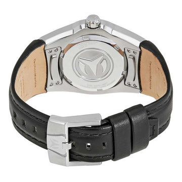 Technomarine Women's Strap Watch - Cruise Select Black Leather | TM-115386