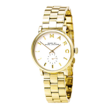 Marc von Marc Jacobs MBM3243 Damen Yellow Steel Bracelet Quartz Baker