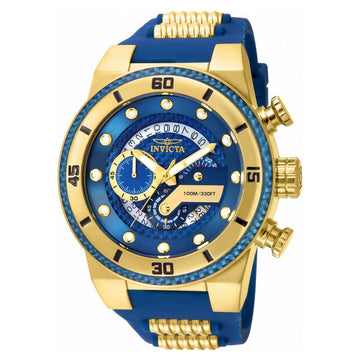 Invicta 24224 Men's S1 Rally Blue Glass Fiber Dial Chrono Watch