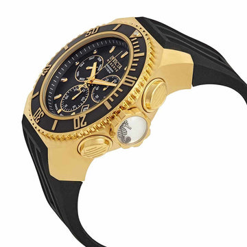 Invicta Men's Chronograph Watch - Russian Diver Reserve Quartz Black Dial | 25731