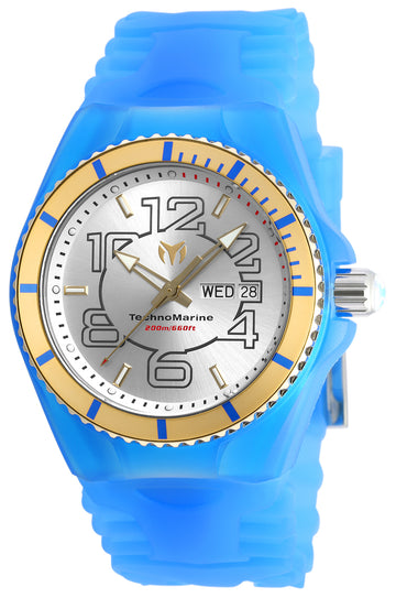 Technomarine Men's Silicone Strap Watch - Cruise JellyFish Day Date | TM-115143