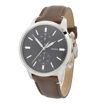 Fossil FS5280 Men's Townsman Brown Strap Chrono Quartz Watch