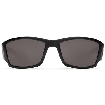 Costa Del Mar CB11OGGLP Men's Corbina Polarized Grey Mirror 580G Lens Black Frame Sunglasses