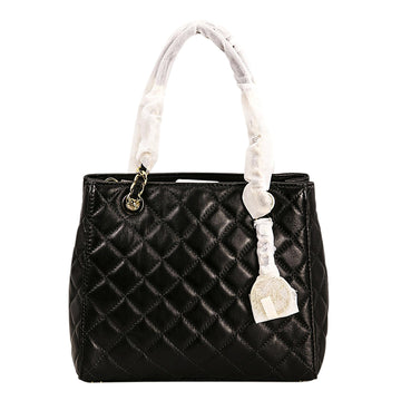 Michael Kors Women's Quilted Leather Shoulder Tote - Susannah Small | 30H5GAHT1L-001