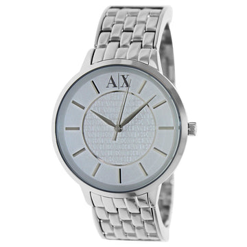 Armani Exchange AX5306 Women's Olivia White Dial Stainless Steel Bracelet Watch
