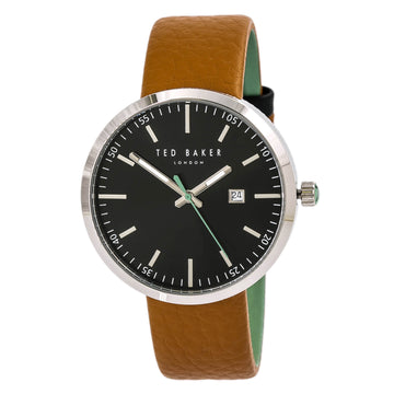 Ted Baker 10031561 Jack Men's Black Dial Brown Strap Watch